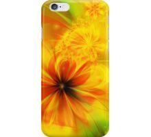 Copper Fractal Flower iPhone Case/Skin