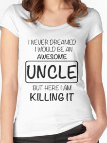 Awesome Uncle Women's Fitted Scoop T-Shirt