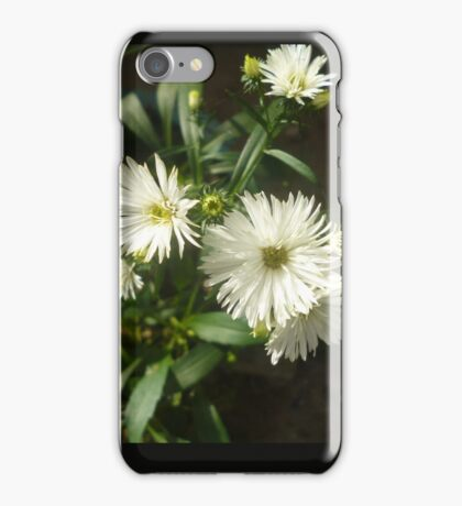 an explotion of white flores. iPhone Case/Skin