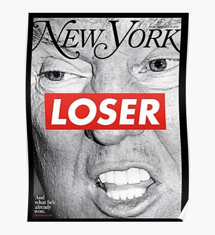 Barbara Kreuger - Trump LOSER Poster