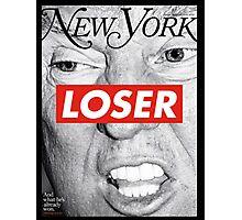 Barbara Kreuger - Trump LOSER Photographic Print