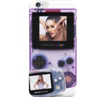 ArianaXGameboyz iPhone Case/Skin