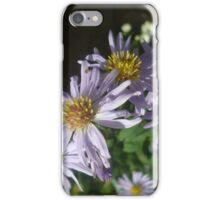 purple blooming flowers iPhone Case/Skin