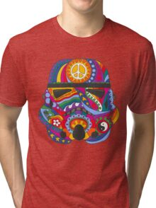 Psychedelic Storm Mask Tri-blend T-Shirt