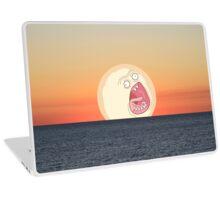Screaming Sunset Laptop Skin