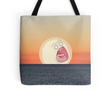 Screaming Sunset Tote Bag