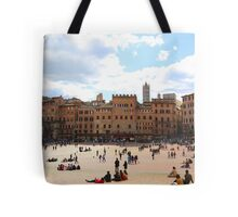All About Italy. Piece 13 - Piazza del Campo in Siena Tote Bag