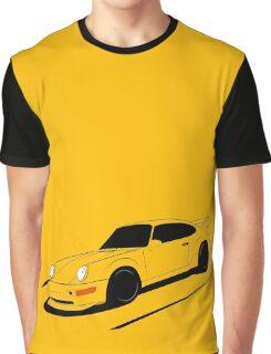 Air-cooled German Sports Car Graphic T-Shirt