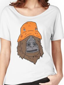 Sassy and the Orange Hat Women's Relaxed Fit T-Shirt