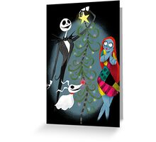 Spooky Christmas Greeting Card