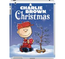 CHRISTMAS CHARLIE BROWN iPad Case/Skin