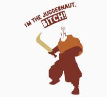 I'm the Juggernaut, Bitch! Shirt Dota by T J B