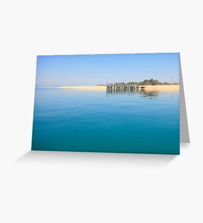 Mill Pond at Monkey Mia Greeting Card