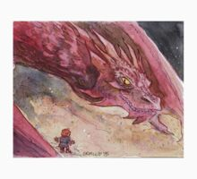 The Temptation of Smaug Kids Tee