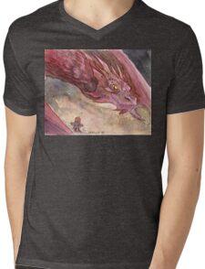 The Temptation of Smaug Mens V-Neck T-Shirt