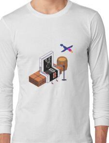 Old Nintendo Long Sleeve T-Shirt