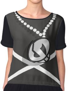 Team Skull Grunt Chiffon Top