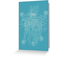 Voltron Conections Greeting Card