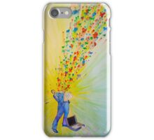 Moments of R.E.M. - Office Worker iPhone Case/Skin