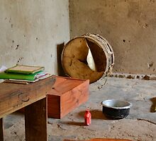 tool in the african hut by spetenfia