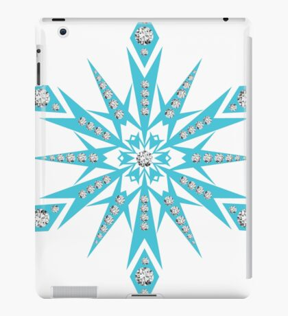 snowflake bling iPad Case/Skin