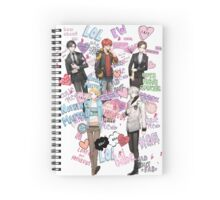 Group Shot Spiral Notebook