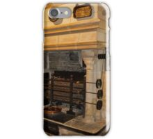 Kitchen Fireplace, Chateau de Chenonceau, France iPhone Case/Skin