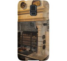 Kitchen Fireplace, Chateau de Chenonceau, France Samsung Galaxy Case/Skin