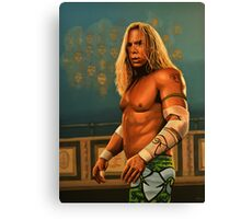 Mickey Rourke as The Wrestler Painting Canvas Print