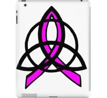 Pink Ribbon Celtic Trinity Knot iPad Case/Skin