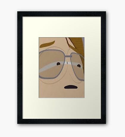 shut up mimsy Framed Print