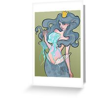 Queen of the Jellies Greeting Card