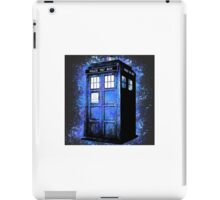 Dr Who Tardis Splatter iPad Case/Skin