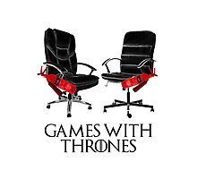 Games with Thrones Photographic Print