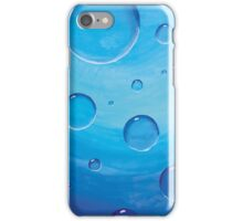 Underwater Adventure Coming Up to the Surface - Print of Keren's Original Acrylic Canvas iPhone Case/Skin