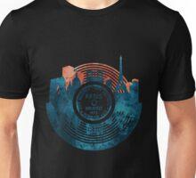 Paris City Vinyl Record Unisex T-Shirt