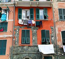 All About Italy. Piece 9 - Vernazza Windows by Igor Shrayer