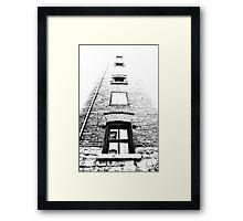floating rooms Framed Print