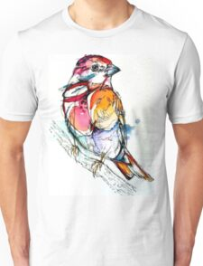 Colours bird  Unisex T-Shirt