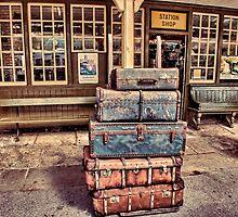 Left Lugage by Trevor Kersley