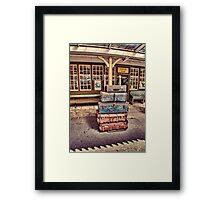 Left Lugage Framed Print