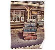 Left Lugage Poster