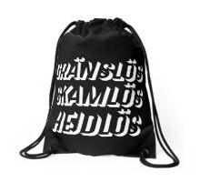 GRÄNSLÖS - SKAMLÖS - HEJDLÖS #2 Drawstring Bag
