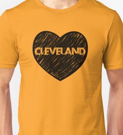 I Love Cleveland, I Heart Cleveland (Urban) Unisex T-Shirt
