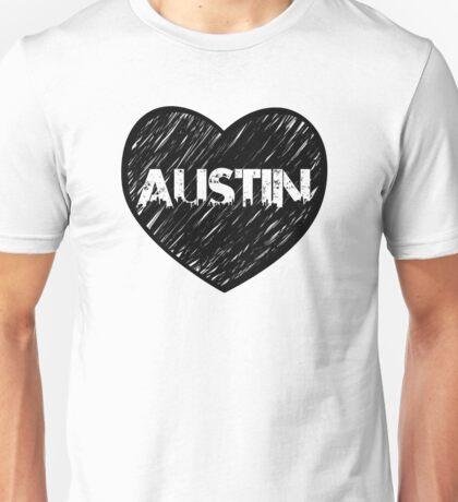 I Love Austin - I Heart ATX (Urban) Unisex T-Shirt
