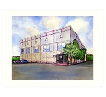 The Office Dunder Mifflin Painting Art Print