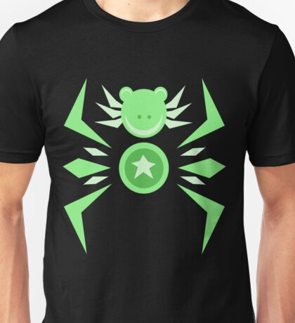 Abstract Jumping Star Frog Unisex T-Shirt