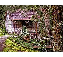The Bath House at Waldheim Chalet, Cradle Mountain Photographic Print