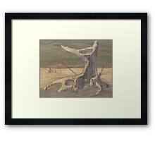 Bark, After Drysdale 1 Framed Print