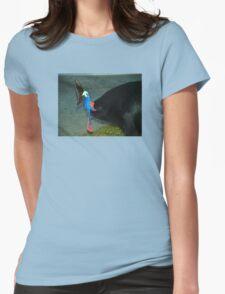 Etty Bay Cassowary  Womens Fitted T-Shirt